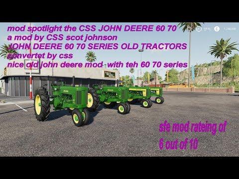 CSS JOHN DEERE 60 70 v1.0.0.0