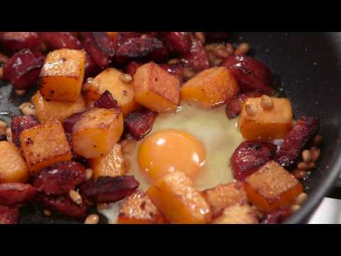 Sunny Queen Fried Egg, Chorizo and Pumpkin | Everyday Gourmet S6 E22