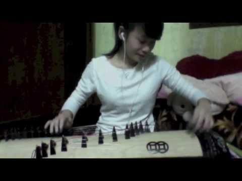 Con Bướm Xuân phiên bản đàn tranh - (Bản gốc Full HD) - Jini chấm bi