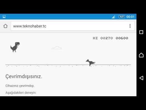 Google Chorme'da Çevrim Dışı İken Neler Oluyor?