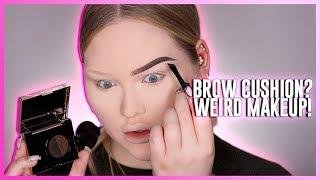 Video TESTING THE WEIRDEST BROW PRODUCT: Eyebrow Cushion?! MP3, 3GP, MP4, WEBM, AVI, FLV Juli 2019