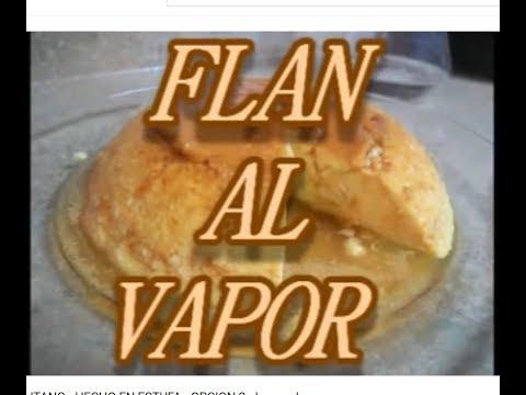 FLAN AL VAPOR - NAPOLITANO CON CARAMELO - OPCION 2 - lorenalara144