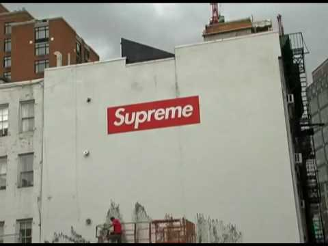 Supreme   New York Billboard