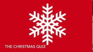 The Christmas Quiz YouTube video