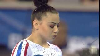 Final BB - FRAGAPANE Claudia (GBR) - European Gymnastics Championships 2017 12.533 (5,40 ND) (7,2 NE)