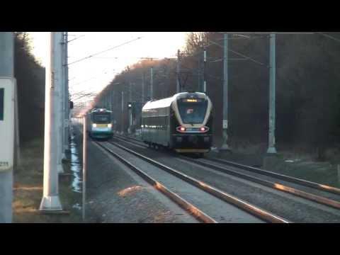LEO Express vs Pendolino ČD - Stretnutie na trati - Střeň