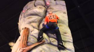 Rumford (RI) United States  City new picture : 51-year-old Man-child Climbs Rock Wall
