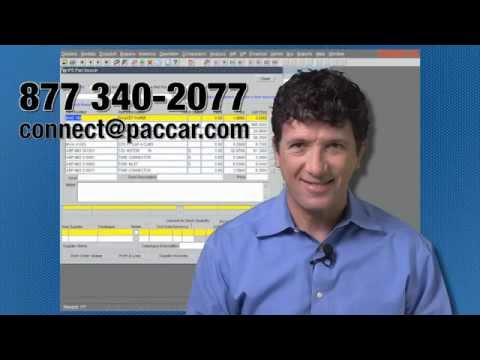 PACCAR Parts Connect System Overview