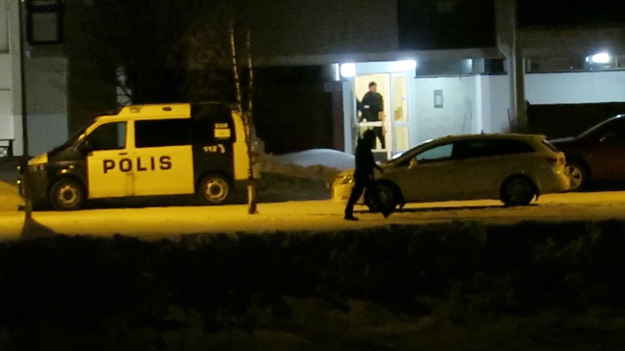 Poliisipiiritys Rovaniemellä päättyi<br /> vesiperään - Asunto olikin tyhjä