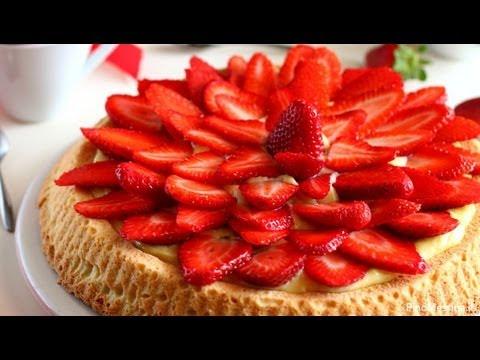 cucina - ricetta della crostata di fragole e crema pasticcera