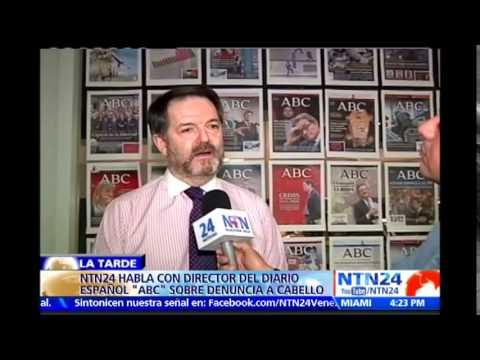Director! - Visite www.canalntn24.com - El director del diario ABC de España, Bieito Rubido, aseguró en La Tarde NTN24 que la denuncia de Leamsy Salazar sobre Diosdado Cabello como presunto cabecilla...