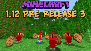 Minecraft 1.12 Pre-Release 3 New Parrots & Old Jungles