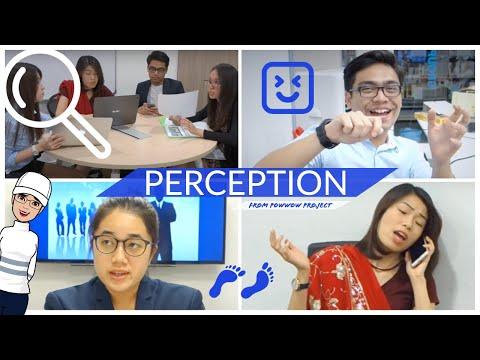 Perception, Self & communication -