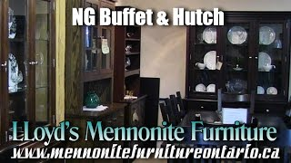 Mennonite NG Buffet and Hutch