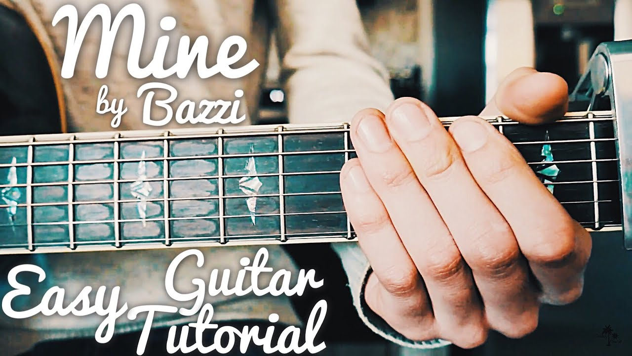 Mine Bazzi Guitar Lesson for Beginners // Mine Guitar Tutorial // Lesson #405