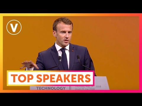 VivaTech 2018: Best Of French President Emmanuel Macron