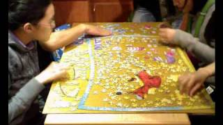 "Jigsaw Puzzle Time-lapse ""MY Friend Pooh"" 1000Pieces"
