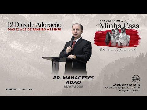 Pr. Manaceses Adão - Minha casa conhecida no céu