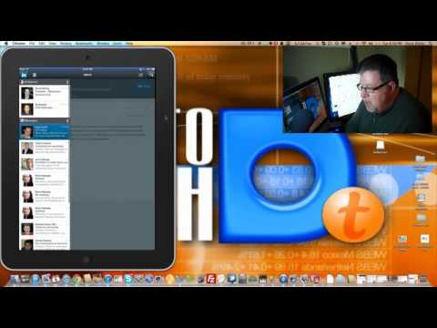 iPad linked in app