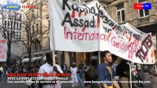 Le 24.03.2012 na Zürich ezali méchant, Kongolais ako lemba te!!! Marche ya lelo ata St. Thomas andimi yango.