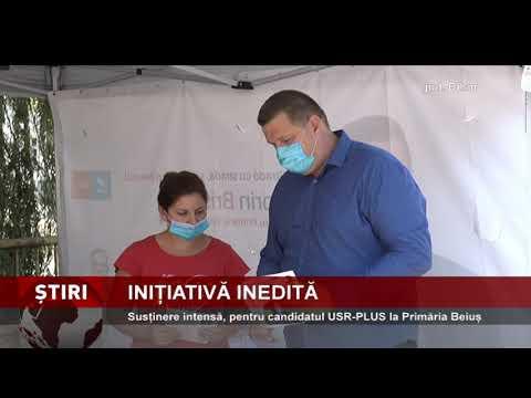 Susținere intensă, pentru candidatul USR-PLUS la Primăria Beiuș