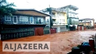 Hundreds of people are feared dead after a mudslide on the outskirts of Sierra Leone's capital Freetown, with authorities saying they are struggling to cope with ...