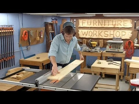 Build a Sofa Table | Top & Drawer Construction