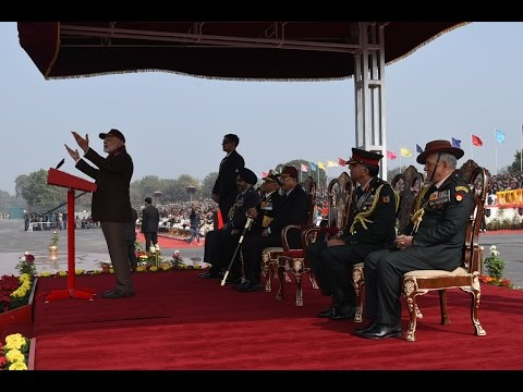 PM Modi's address to NCC Officers and Cadets on PM's NCC Rally in New Delhi