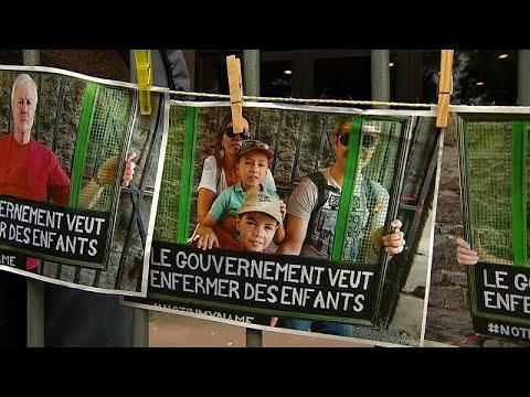 Βέλγιο: Διαδηλώσεις κατά της μεταναστευτικής πολιτικής της κυβέρνησης…