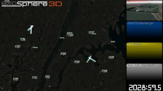 10x Timelapse: Flight 1549 Radar Data