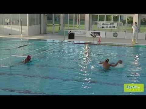 Waterpolo Navarra vs Echeyde penaltis