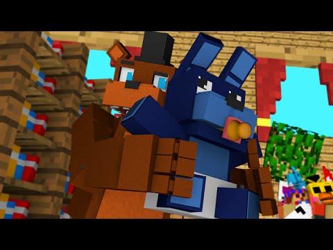 BABY BONNIE AND DADDY FREDDY! | Minecraft FNAF Who's Your Daddy Roleplay