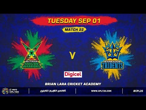 MATCH 22 DIGICEL HIGHLIGHTS | GAW v BT | #CPL20 #GAWvBT #CricketPlayedLouder