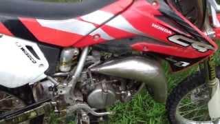 10. Honda CR85R HELP!