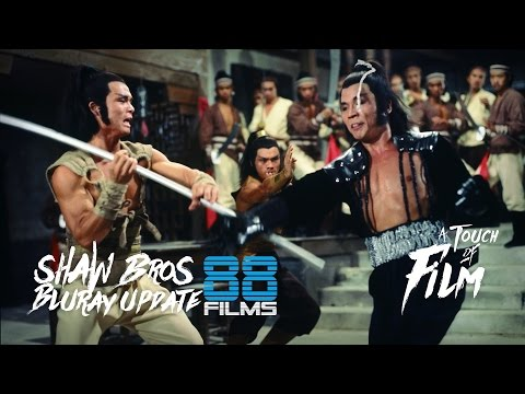 Shaw Brothers Bluray Update - 88 Films