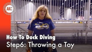 Dock Diving How-To Step #6 : Throwing a Toy