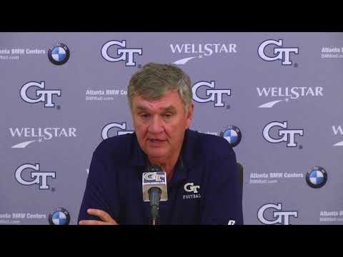 Video: Game 4: Head Coach Paul Johnson Weekly Press Conference (9-26-17)