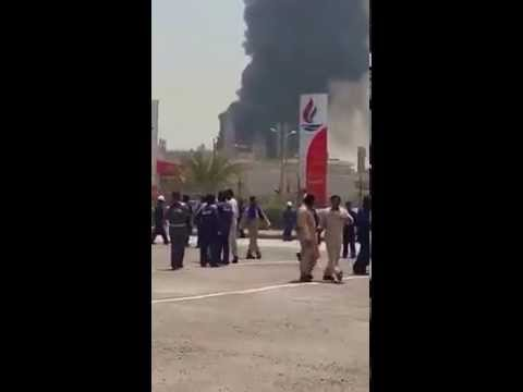 Fire at Kuwait's Shuaiba refinery