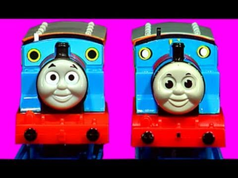 thomas - Plenty of accidents and crashes in this video as I compare a real Thomas Tank Engine to a very clever copy. Both items cost around $20, but one is a complete...