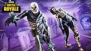 New Purple Glow Skull Trooper Skin!! - Fortnite Battle Royale Gameplay - Ninja & Nickmercs