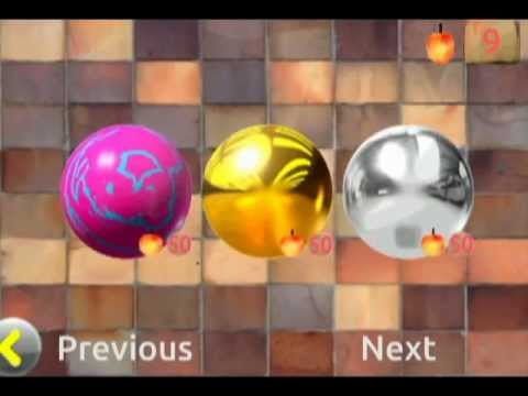 Video of FRUIT BALL( labyrinth)