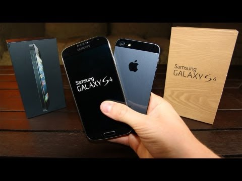 iphone 5 review - Galaxy S4 versus iPhone 5: an in-depth Review! http://bit.ly/15fGOUg Which is better, Apple's iPhone 5 or Samsung's new Galaxy S4 flagship smartphone? Find o...