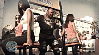 STAGE 6 - MHP Strongman Champions League official trailer Latvia 2015