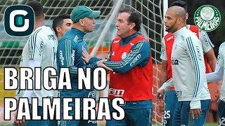 Pensando na Libertadores, elenco do Palmeiras volta a treinar nesta segunda-feira. Rachão termina em discussão entre Felipe...