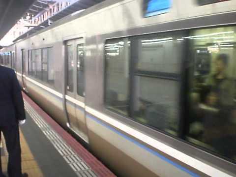 【130km/h高速通過あり】JR神戸線・京都線 列車発車&通過シーン集