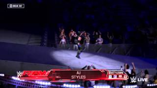 The Phenomenal AJ Styles makes his entrance in WWE 2K16! The AJ Styles CAW was made by AlcLegacy on Xbox One