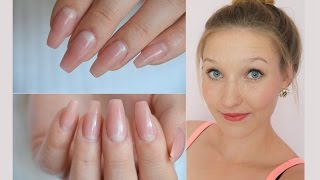 HOW TO: Natural-Look | Gelnägel | DaNana - YouTube