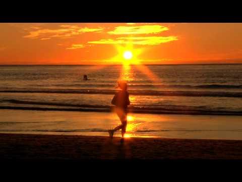 Бягане на залез слънце