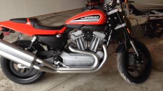 5. 2009 Harley Davidson XR1200 sportster stock exhaust