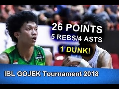 Indra Muhammad 26pts/5reb/4ast/1 Dunk! | October 14, 2018
